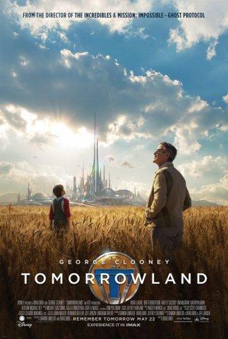 2015科幻电影《明日世界》宣传海报设计