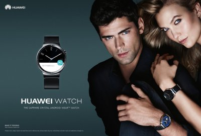 超模Karlie Kloss 代言华为智能手表Huawei Watch唯美大片
