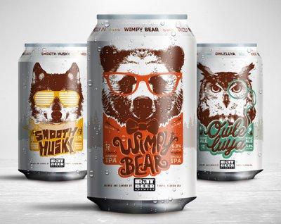 RuTT Beer啤酒包装