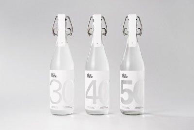 Rice Wine精致纯白米酒包装设计