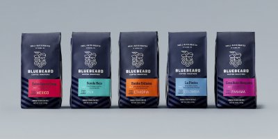Bluebeard Coffee Roasters咖啡包装