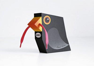 GÖRTZ bird 有趣的动物外观包装设计