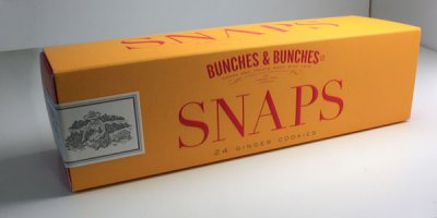 Bunches & Bunches Snaps包装盒包装设计作品