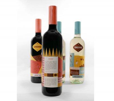 Sangwine包装设计酒瓶设计
