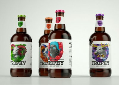 Trophy Beer包装设计作品欣赏