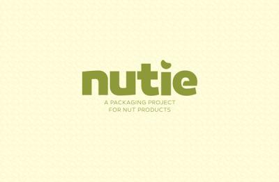 醒目的nutie坚果包装设计作品