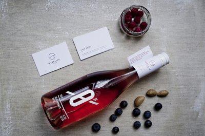0-Hour Rose玫瑰酒包装设计