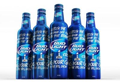 BudLight Superbowl XLIX限量版啤酒包装设计欣赏