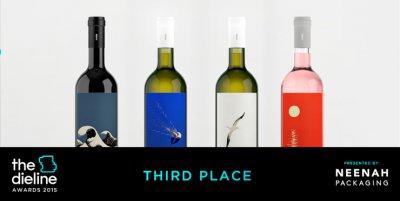 The Dieline Awards 2015葡萄酒、香槟-第三名- Ploes Wines包装设计