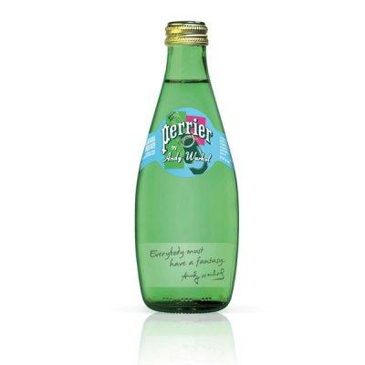 安迪·沃霍尔的艺术法国沛绿雅矿泉水限量瓶