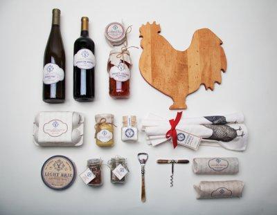经典法式风格Laduée食品包装