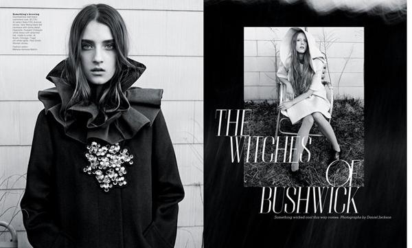 纽约时代时尚杂志设计获奖版面