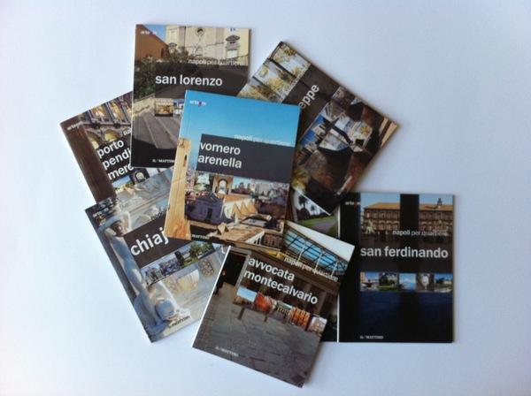 Napoli per quartiere书籍设计欣赏
