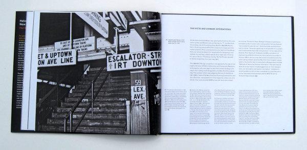 """Helvetica与纽约地铁系统""一书排版装帧设计欣赏"