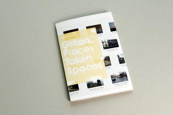 书籍设计作品《绿色空间采取---我自己的城市指南》