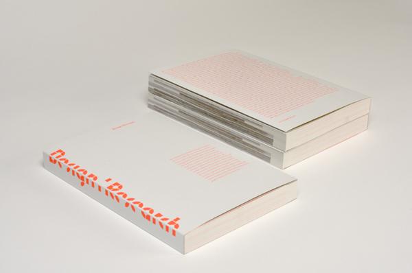 Design Research展览画册封面设计欣赏