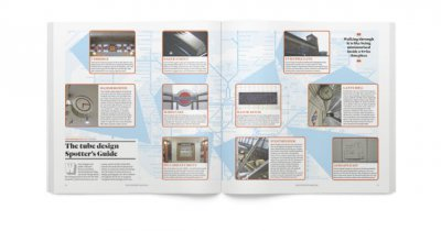 CR三月刊:伦敦地铁150年纪念书籍排版设计
