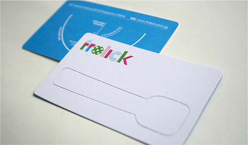 创意交互式名片设计