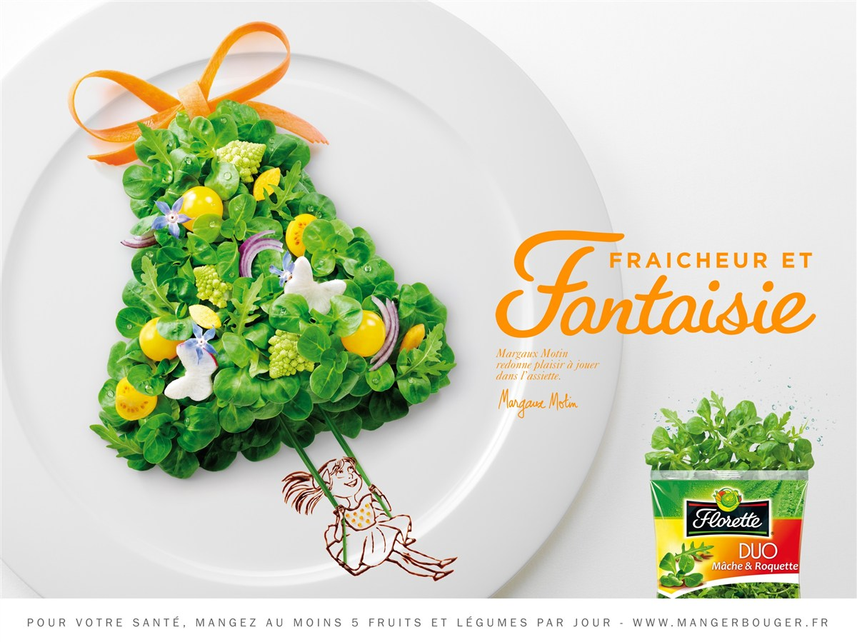 法国美味零食创意广告设计