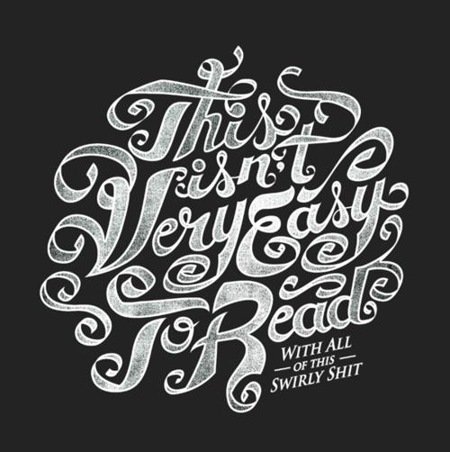 10种创新字体设计欣赏(2)-妮兔网