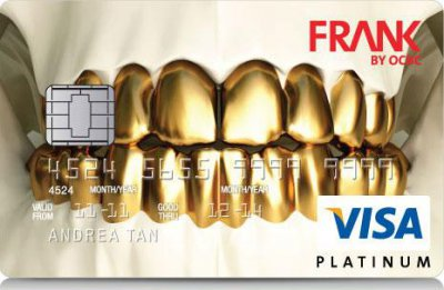 OCBC银行创意个性信用卡设计作品