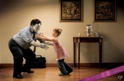 那些惊悚的创意广告:胆小者勿进!