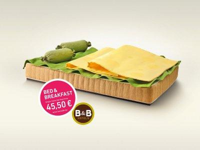 B&B Hotels 平面广告设计欣赏