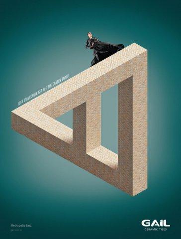 gail瓷砖广告设计欣赏