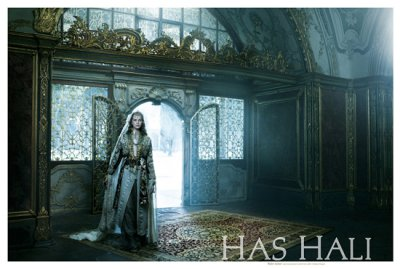 Has Hali 手织地毯广告招贴欣赏
