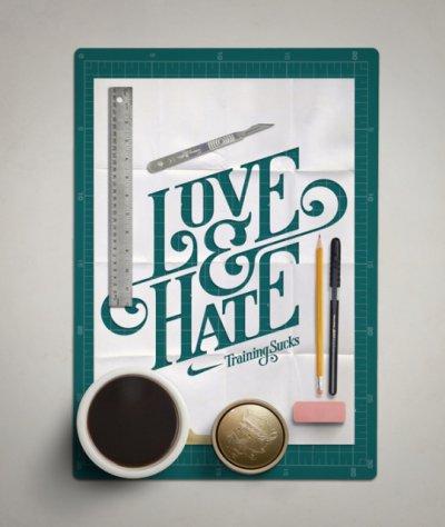 Mats Ottdal创意字体设计欣赏