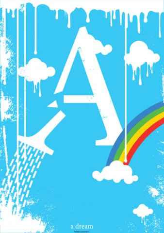 字母A-Z的艺术海报设计欣赏