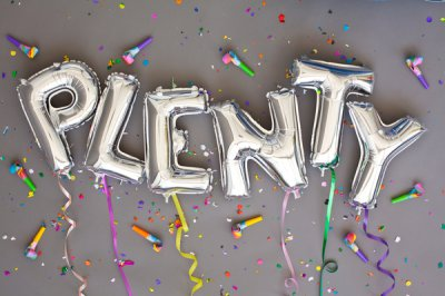 Plenty工作室创意字体设计作品