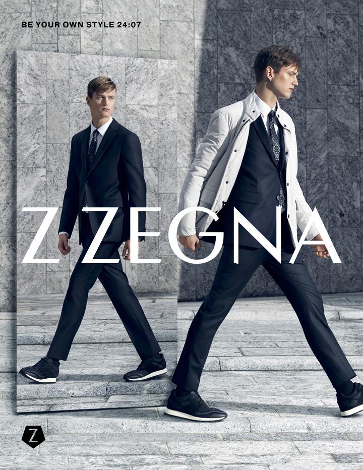 Z Zegna 2015系列广告大片