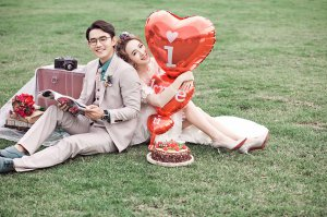 草莓恋人 个性婚纱照摄影作品