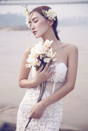 唯美婚纱摄影照 新娘婚纱摄影作品欣赏