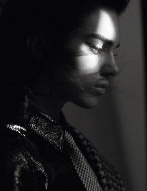 超模Kendall Jenner 演绎《Vogue》时尚杂志风尚大片