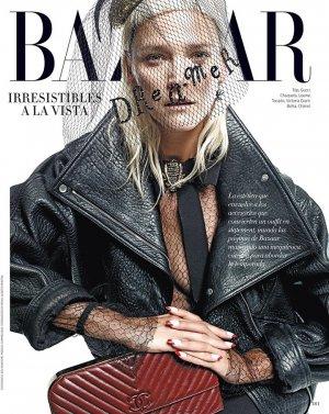 名模Carmen Kass 演绎《Harper's Bazaar》杂志时尚大片