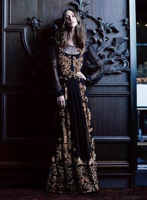 超模Alana Zimmer 《Fashion》杂志秋日裙装风尚大片