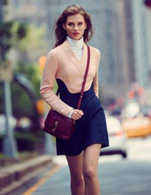 超模Giedre Dukauskaite《Harper's Bazaar》中国版时尚杂志大片