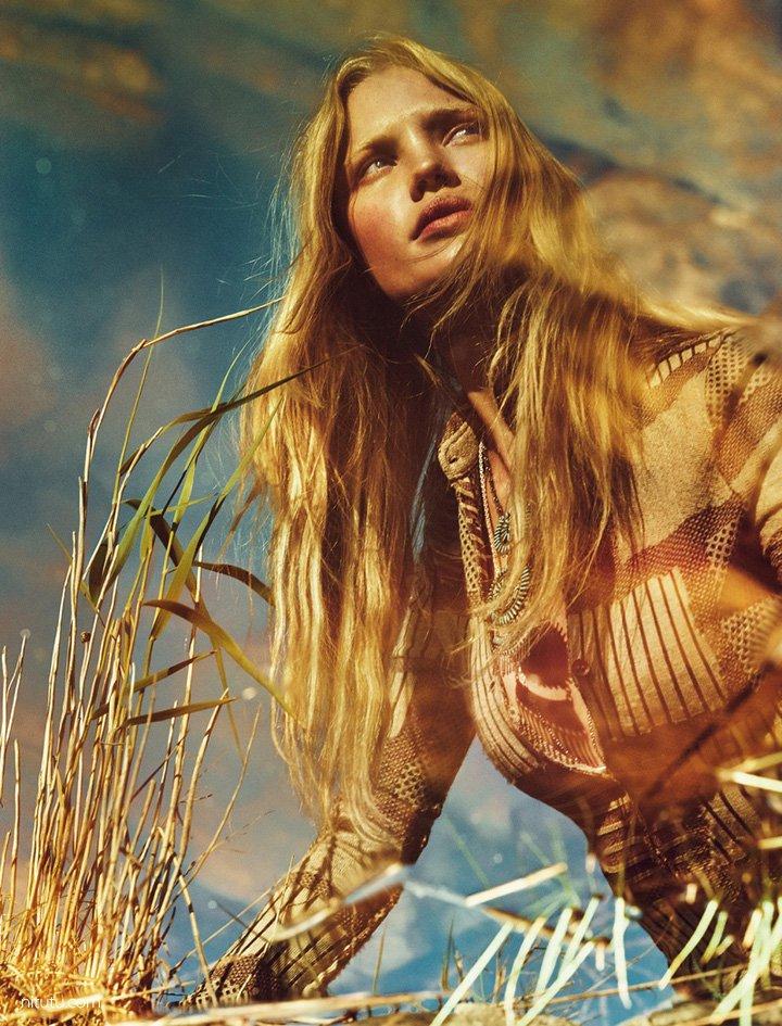 Camilla Christensen《Elle》瑞典版2015年10月号