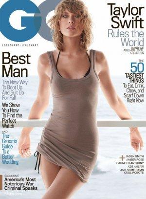 泰勒·斯威夫特(Taylor Swift)演绎《GQ》杂志时尚大片