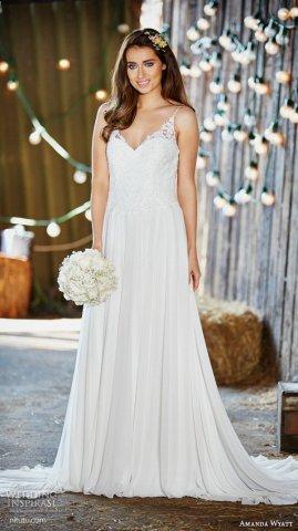 Amanda Wyatt 2016 新娘婚纱礼服系列(一)