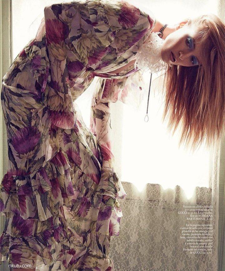 Daria Strokous《S Moda》杂志2015年11月号