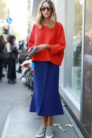 红色为主的服装搭配技巧 冶艳大胆的红色新主张!