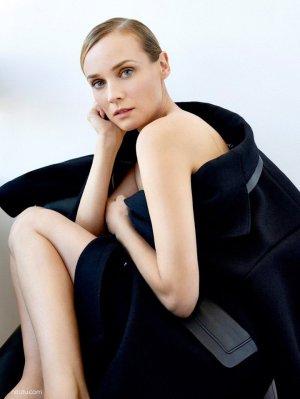 Diane Kruger(黛安·克鲁格)演绎《Marie Claire》时尚杂志大片