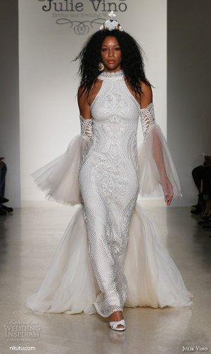 Julie Vino 2016纽约婚纱时装周婚纱礼服秀