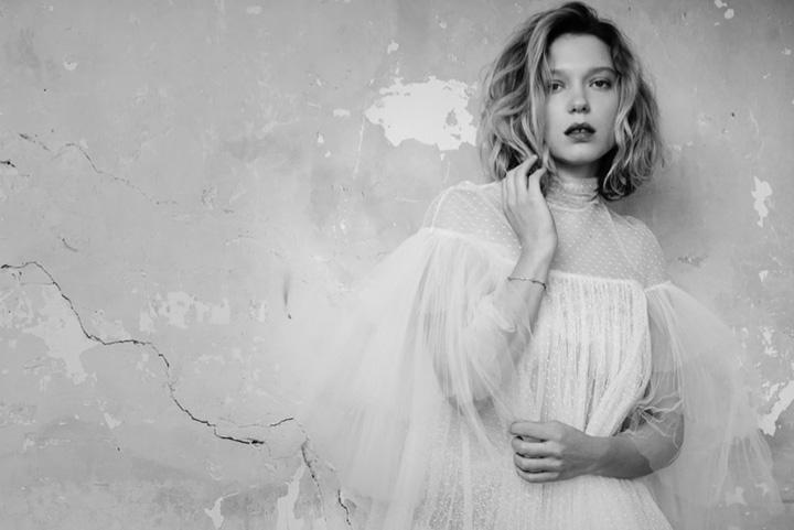 Lea Seydoux《GQ》意大利版2015年11月号