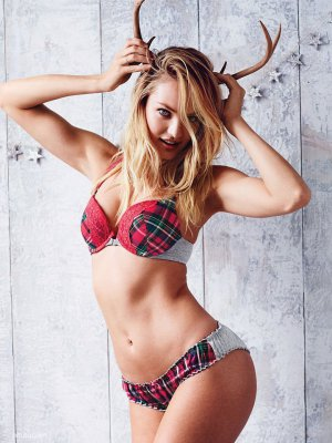 Victoria's Secret 2015圣诞主题时尚广告