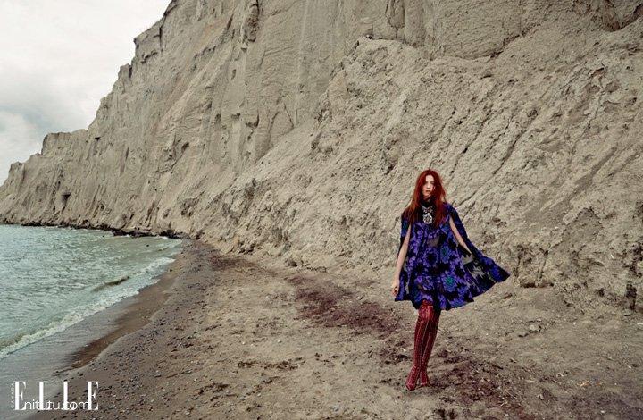 Kristin Zakala《Elle》加拿大版2015年12月号