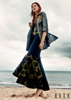Kristin Zakala 演绎《Elle》杂志时尚大片